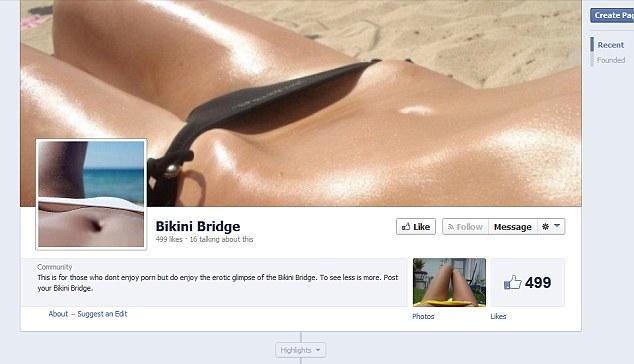 bikini brú